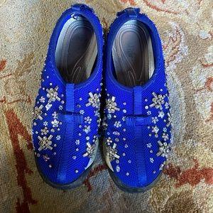 Dior Floral embellished sneakers, size 36